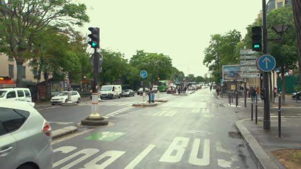 Movement on city road.