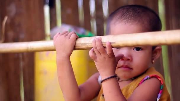 Asian child.
