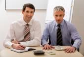 Fotografie Dva šéfové, aby podnikatelský plán
