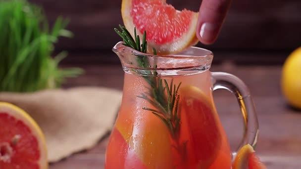 Grapefruity limonáda