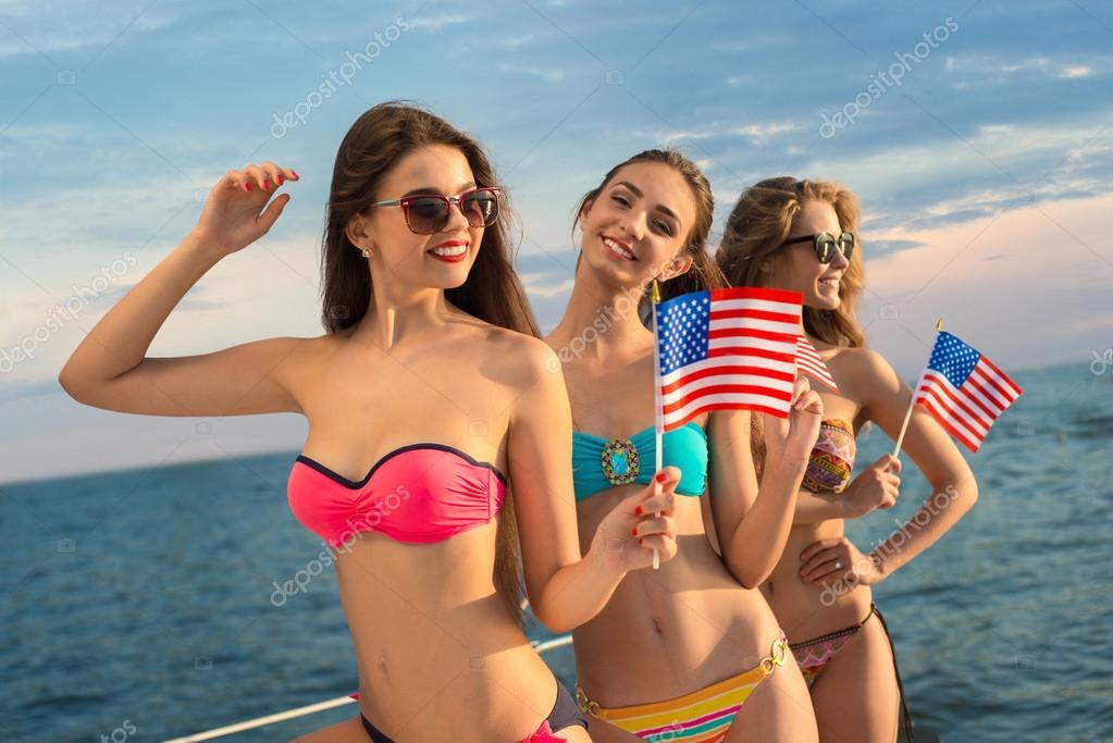 American girls.