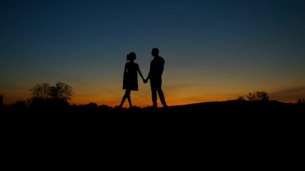 Szerelmeseinek a naplemente háttér