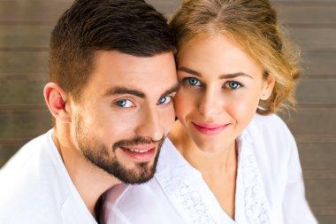 Portrait of a loving couple.