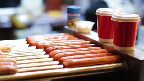 párky na hot dog