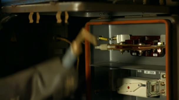 Electrician undergoing renovations.