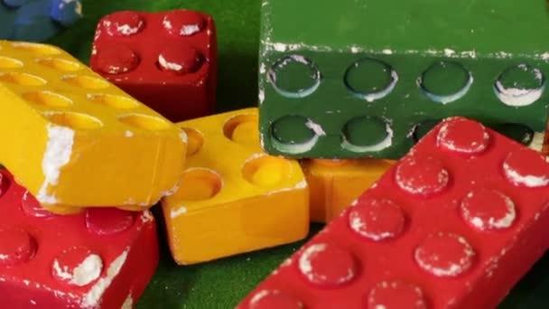 Velké barevné konstruktor cihly