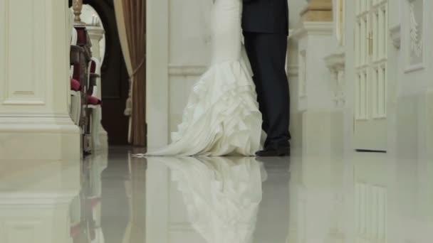 Krásné svatební milenců
