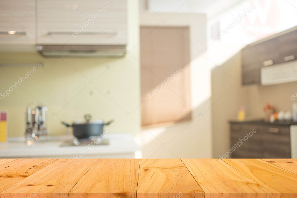 Blur Kitchen Room Interior Background Product Display Template Stock Photo Image By C Pat194 117354716