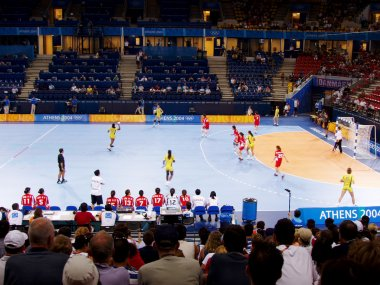 Handball women 17 August 2004 Olympic Games South Korea-Denmark