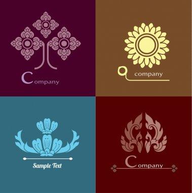 thai design, vector set of Thai ornament design and decoration.