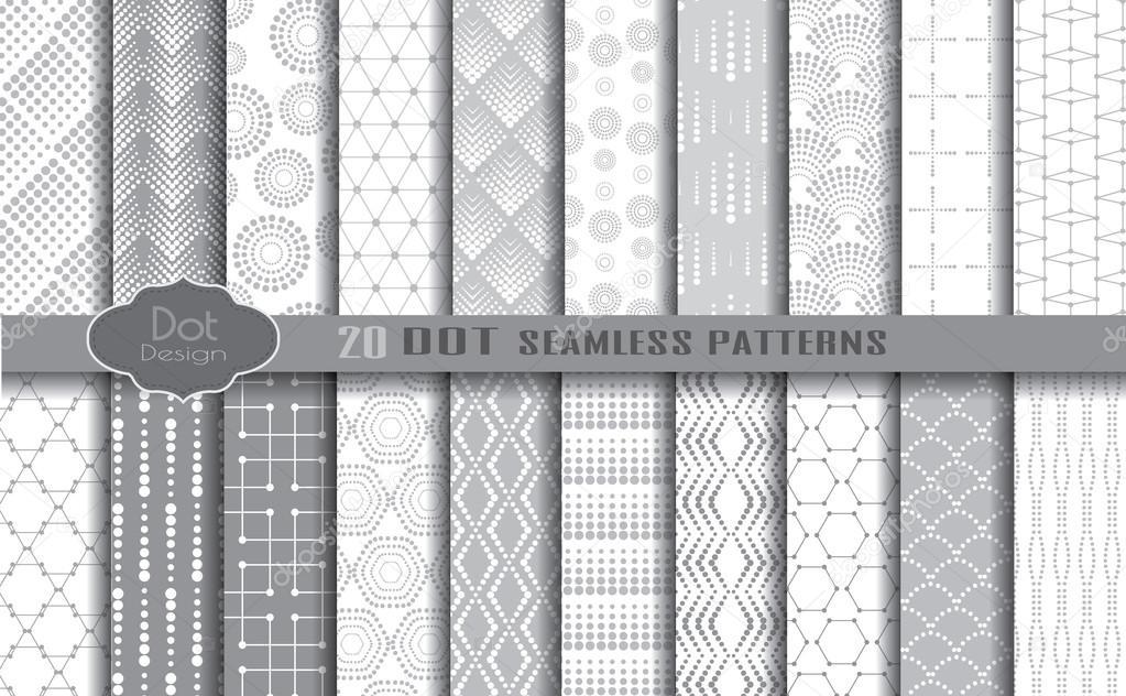 Patrones illustrator descargar | patrones de puntos — Vector de ...