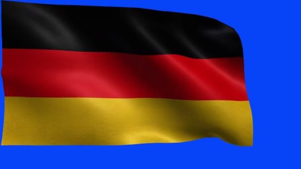 Németországi Szövetségi Köztársaság, Németország, Németország zászló - zászlaja hurok
