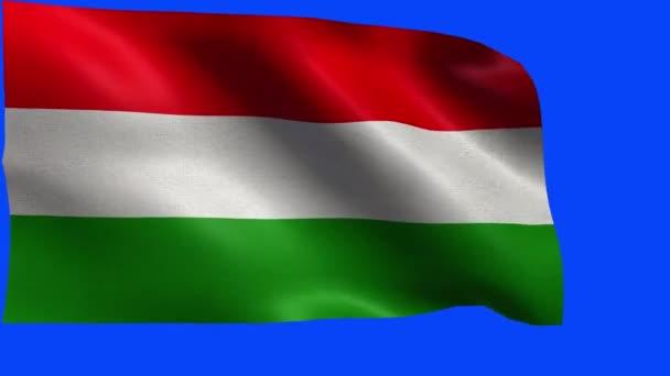 Magyarország, magyar zászló - hurok zászlaja