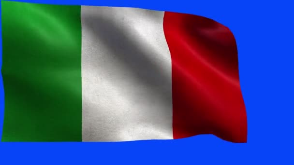 Italian Republic, Flag of Italy, Italian Flag - LOOP