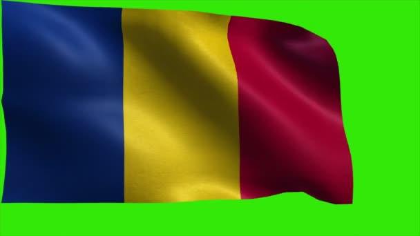 Flag of Romania, Romanian Flag - LOOP