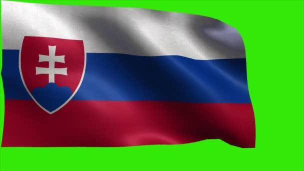 Slovenská republika, vlajka Slovenska - smyčka