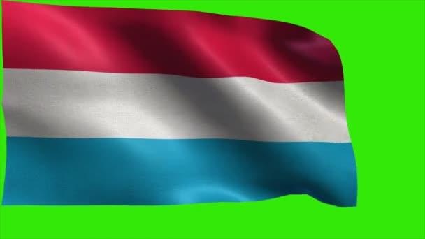 Lucemburské velkovévodství, vlajka Lucembursko - smyčka