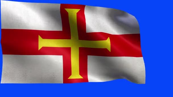 Bailiwick of Guernsey, Flag of Guernsey - LOOP