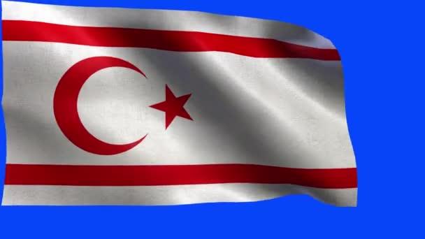 Török Köztársaság az Észak-Ciprus, Észak-Ciprus - hurok zászlaja