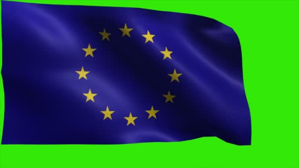 Flag of Europe Union, EU Flag - LOOP
