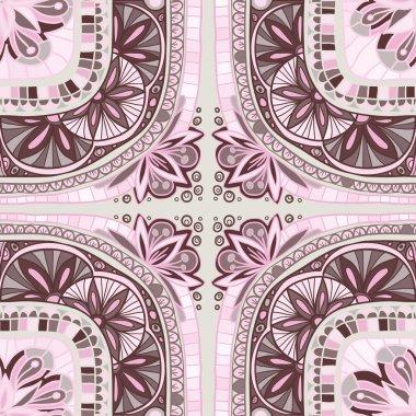 ornamental seamless ethnic pattern