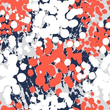 Bright spots seamless pattern