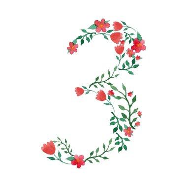 Royal floral number 3
