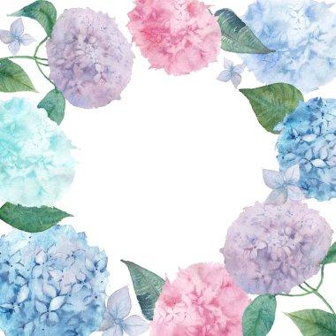 watercolor natural lilac bouquets