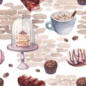 Vzorek akvarel sladkosti