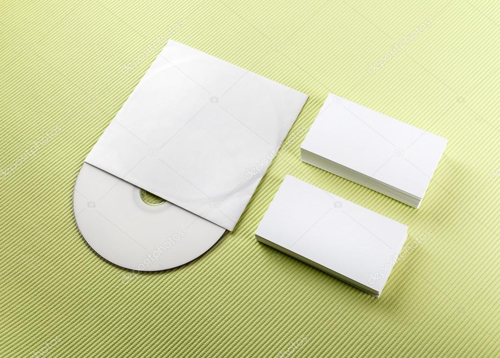 Business Cards And Cd Stock Photo Veresovich 65207877
