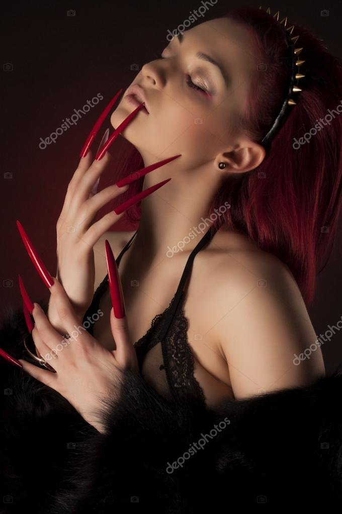 Share sexy women with long nails opinion