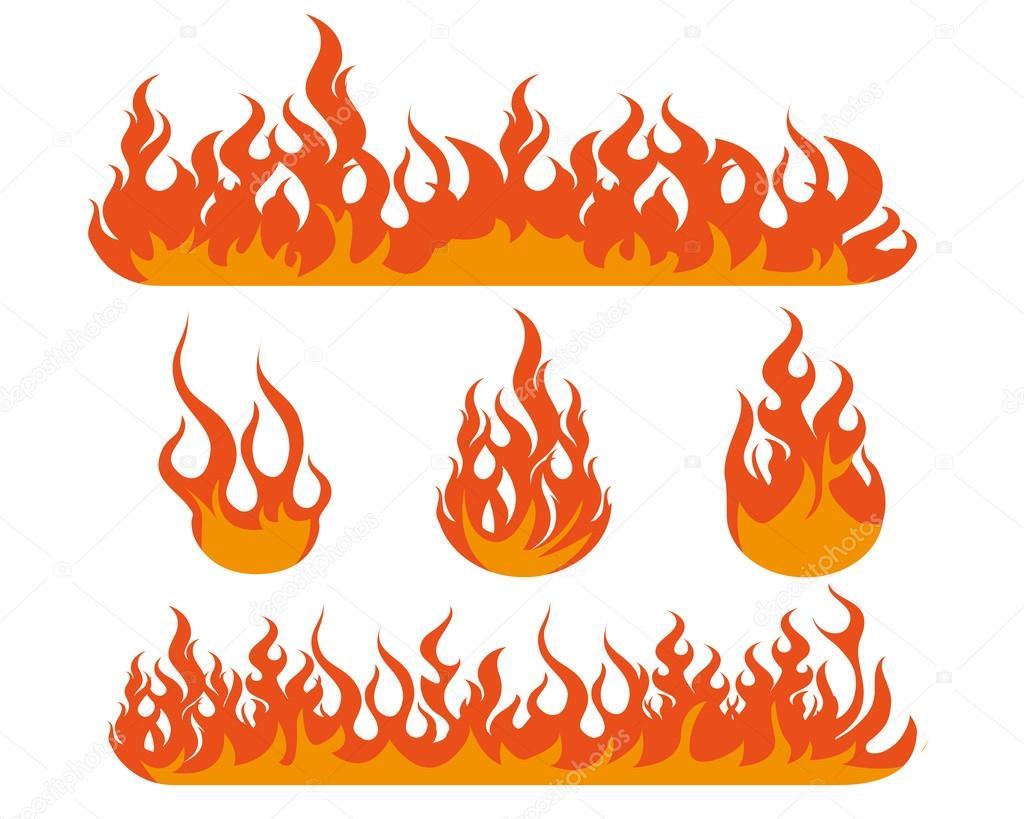 炎イラスト デザイン ストックベクター Rizal99 90807562
