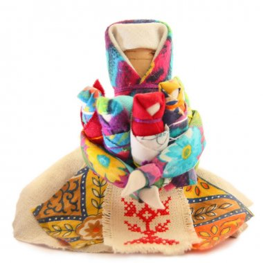 Slavic doll, rag, Russian folk toys, family, Moskovka, doll therapy