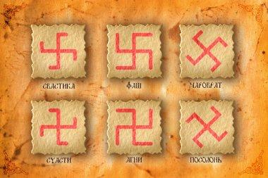Slavic pagan symbols