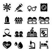 AIDS, Hiv sady ikon