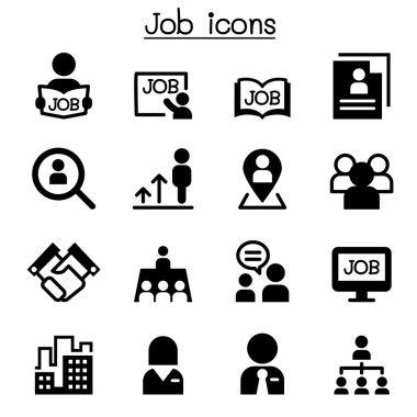 Job icons illustration vector