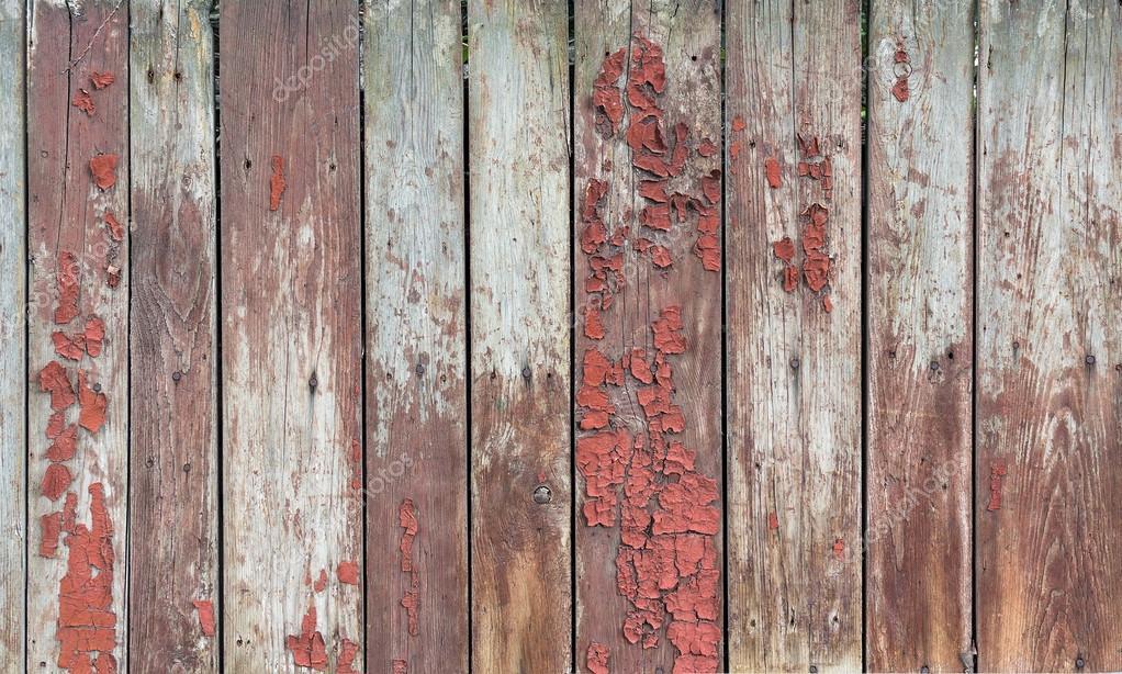 Vieilles planches en bois avec des restes de peinture for Vieille planche de bois
