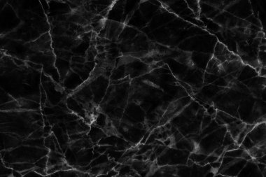 Abstract black marble texture in natural patterned.