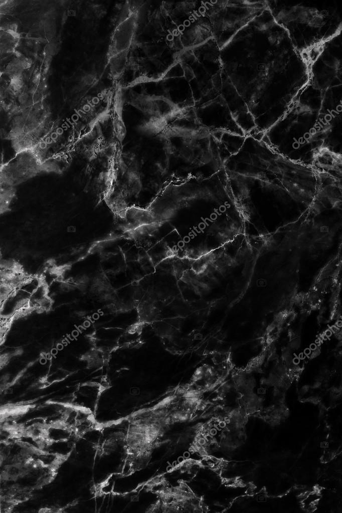 Marmo Nero Scuro Patterned Sfondo Texture Modelli Naturali