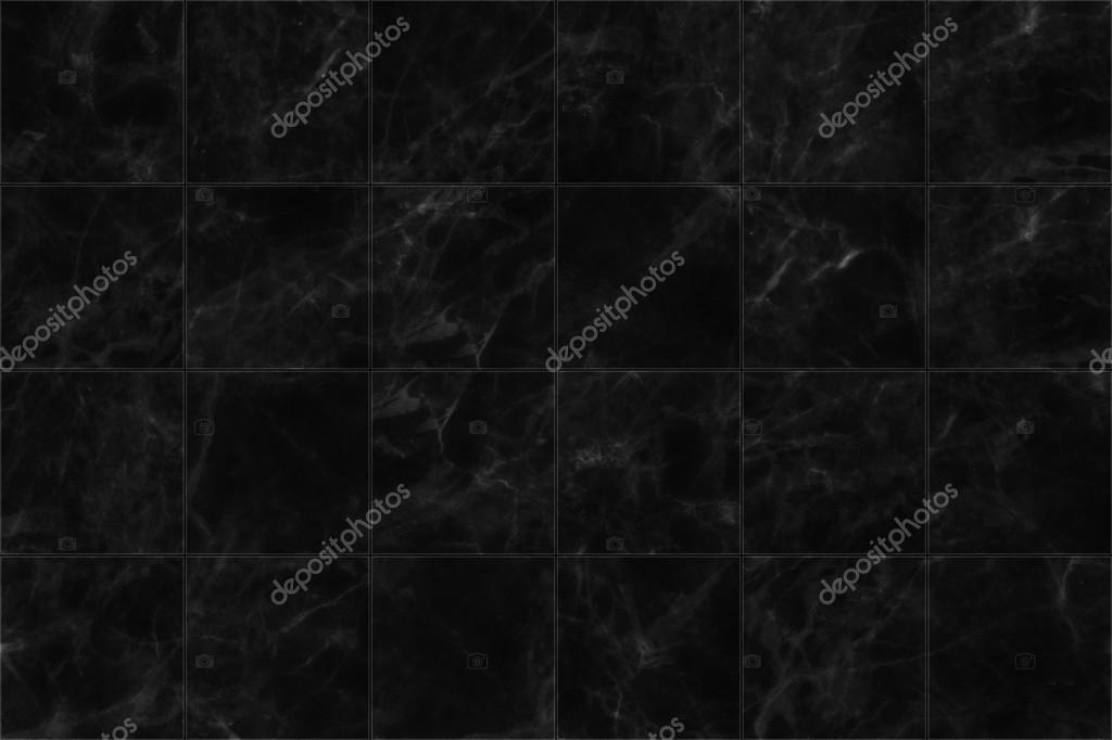 Marmo nero piastrelle pavimenti seamless texture sfondo u foto