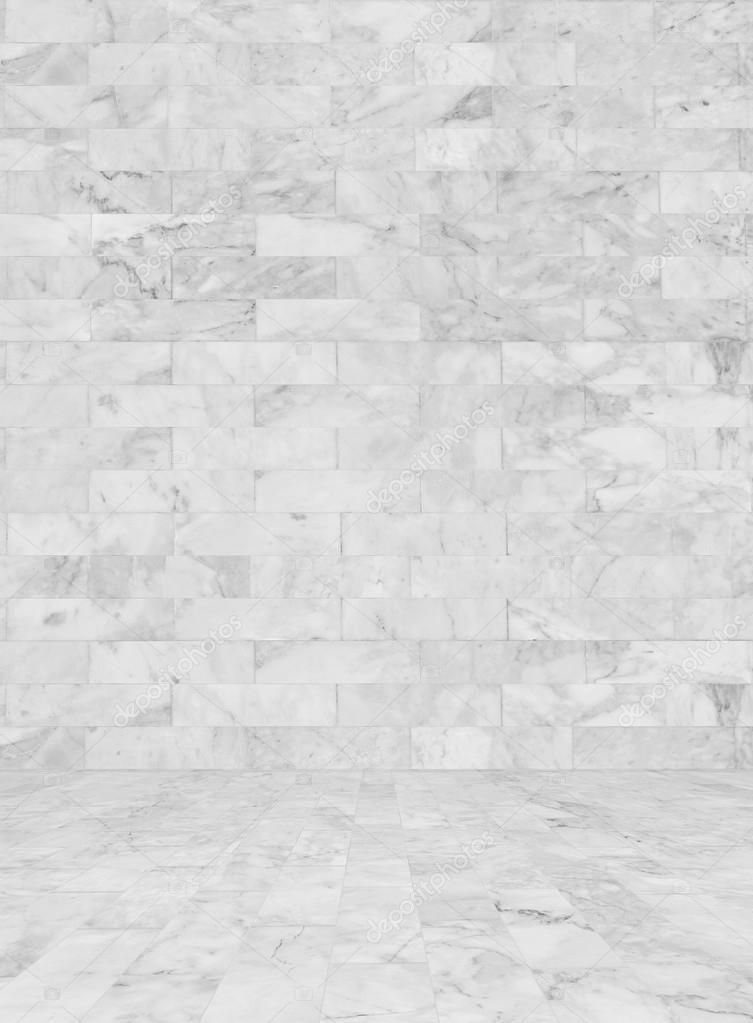 White Marble Tiles Seamless Flooring Texture Background Stock Photo