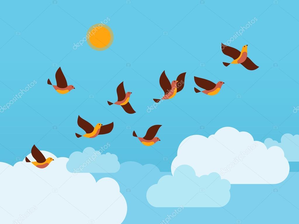 Imagenes De Pajaros Volando