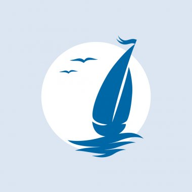 Yacht icon.