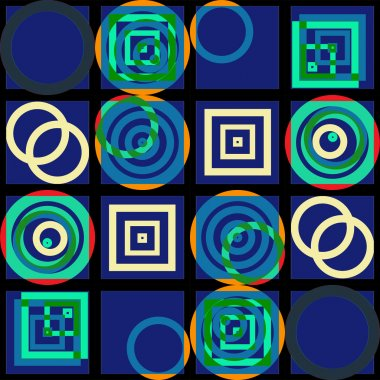 Colorfull squares texture seamless pattern background