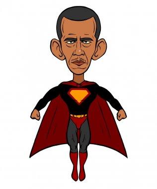 Barack Obama super man
