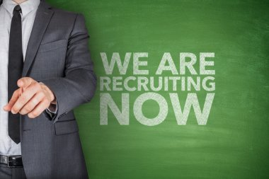 We are recruiting now on blackboard
