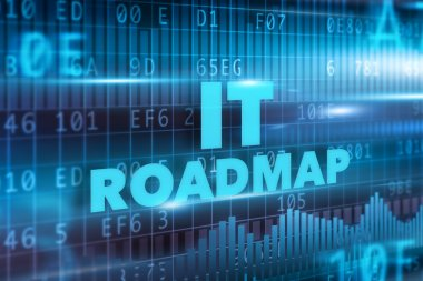 IT roadmap concept