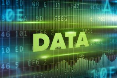 Data concept background