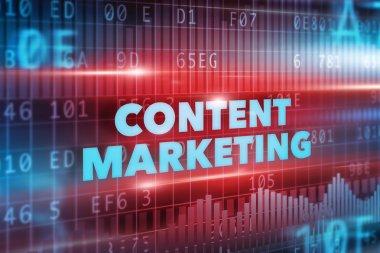 Content marketing concept