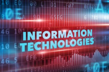 Information technologies concept
